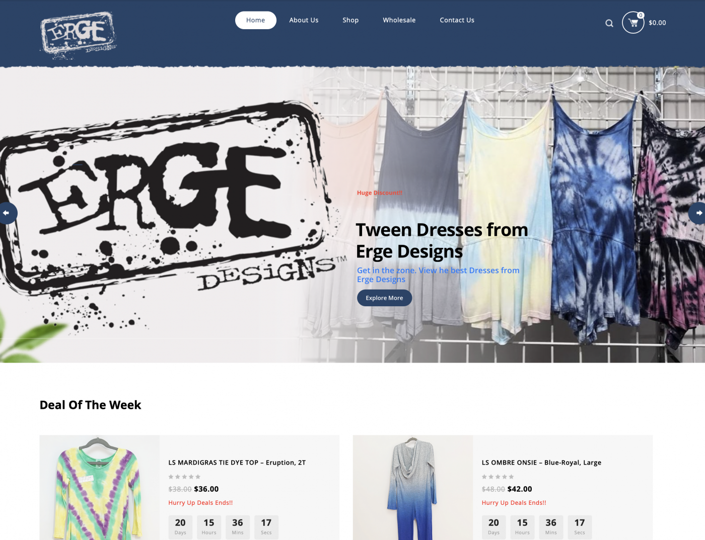 Erge launches new online presence.